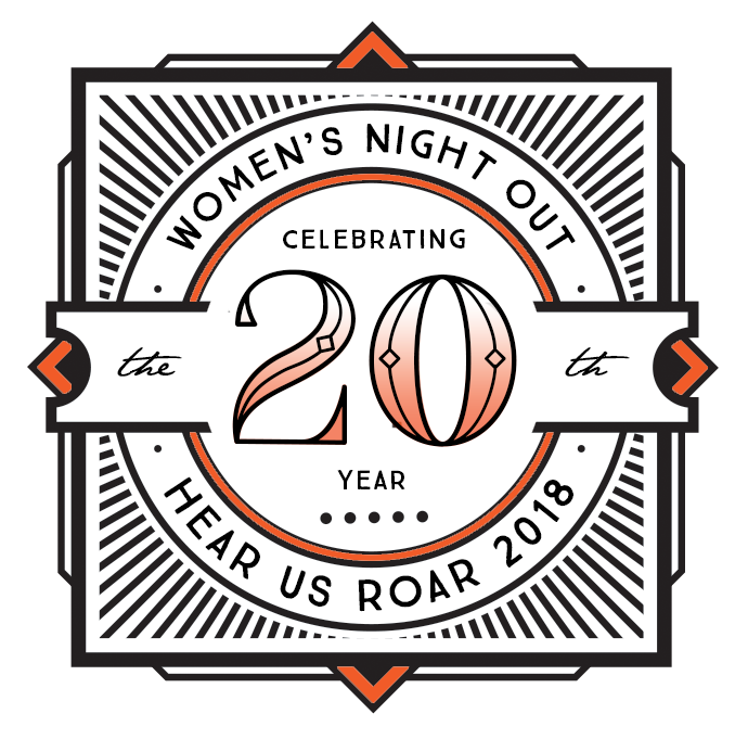 20th Annual Women's Night Out: Hear Us Roar! @ Topeka Performing Arts Center